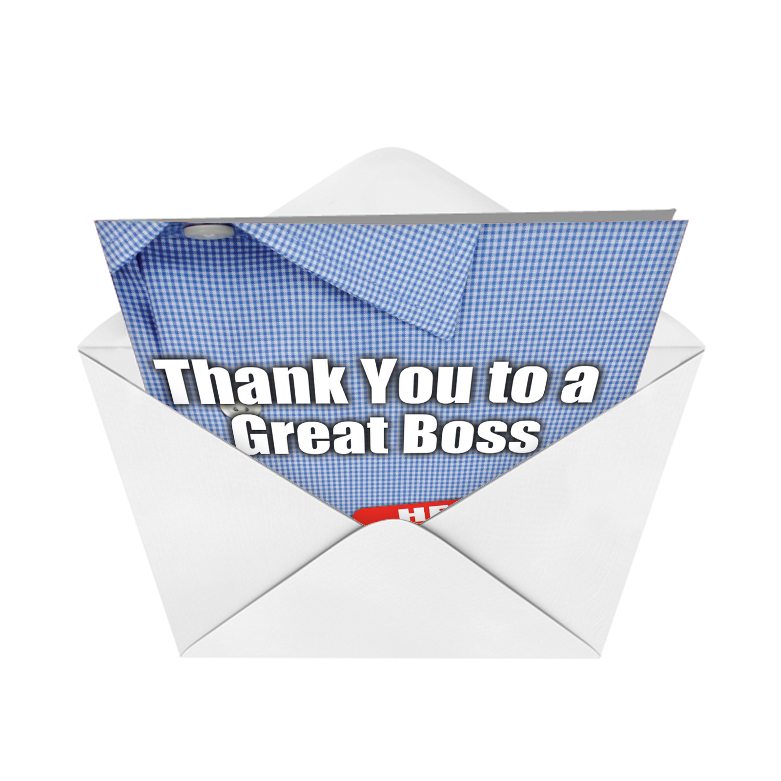 J9108 Jumbo Funny Thank You Card: Thank You to a Great ...